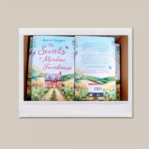Picture of the front and back cover of The Secrets of Meadow Farmhouse