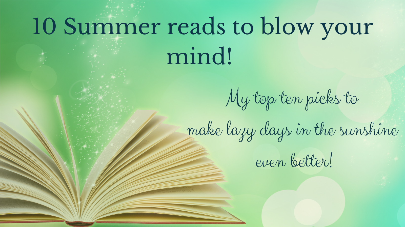 10 summer reads to blow your mind